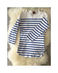 Top, tee-shirt coton blanc Jean Paul Gaultier en coloris White