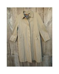 Imperméable, trench polyester beige Burberry en coloris Natural