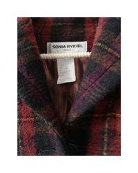 Veste laine mélangée multicolore Sonia Rykiel