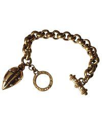 Bracelet métal doré Loewe en coloris Metallic