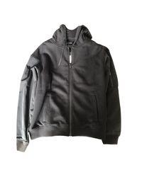 Sweat coton noir The Kooples en coloris Black