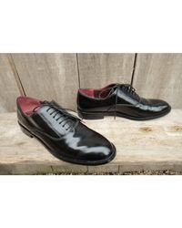 Chaussures à lacets cuir noir Marc Jacobs en coloris Black
