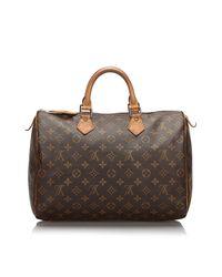 Sac à main en cuir monogram canvas autre Louis Vuitton en coloris Brown