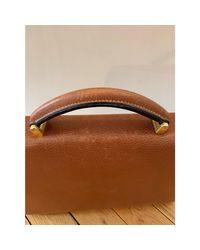 Porte document, serviette cuir marron Lancel pour homme en coloris Brown