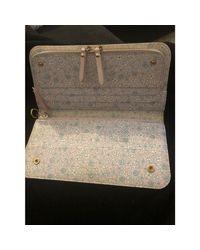 Portefeuille synthétique marron Louis Vuitton en coloris Brown