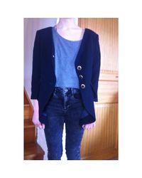 Veste laine bleu Nina Ricci en coloris Blue