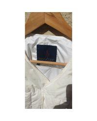 Doudoune plume blanc Moncler pour homme en coloris White