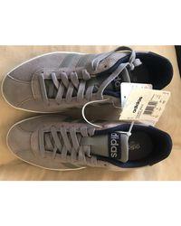 Baskets daim gris Adidas en coloris Gray