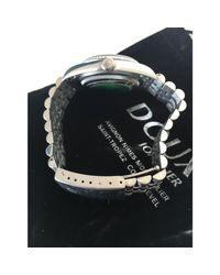 Montre au poignet acier DATEJUST argent Rolex pour homme en coloris Metallic