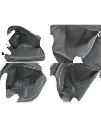 Châle soie noir Louis Vuitton en coloris Black