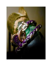 Bracelet cuir marron Tod
