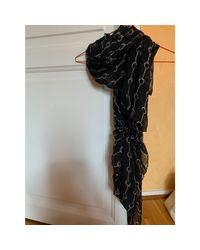 Foulard modal noir The Kooples en coloris Black
