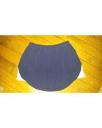 Jupe courte viscose bleu Isabel Marant en coloris Blue
