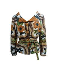 Veste coton multicolore Moschino