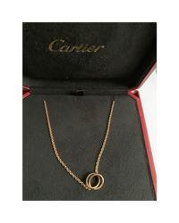 Collier or rose autre Cartier en coloris Multicolor