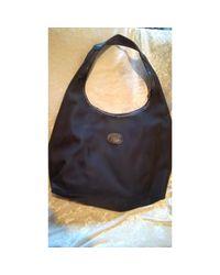 Sac en bandoulière en tissu tissu noir Longchamp en coloris Black