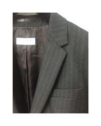 Veste laine gris Dries Van Noten en coloris Gray