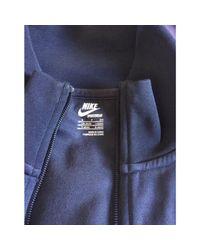 Haut de survêtement polyester bleu Nike pour homme en coloris Blue
