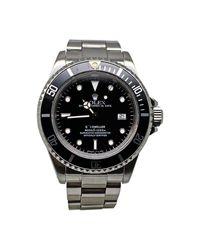 Montre au poignet acier SEA DWELLER noir Rolex pour homme en coloris Black