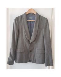 Veste polyester gris Zadig & Voltaire en coloris Gray