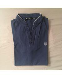 Polo coton bleu The Kooples pour homme en coloris Blue