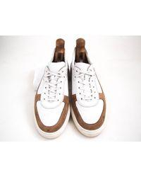 Baskets cuir blanc Tod's pour homme en coloris White