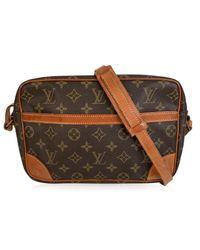 Sac en bandoulière en tissu other marron Louis Vuitton en coloris Brown