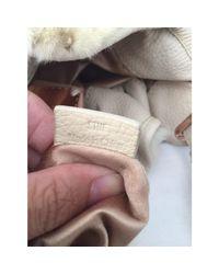Sac à main en cuir cuir blanc Lancel en coloris White
