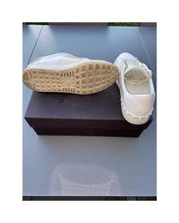 Baskets cuir Open blanc Valentino pour homme en coloris White