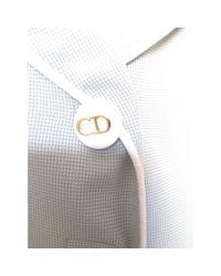 Tailleur jupe viscose autre Dior en coloris Gray