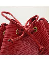Sac en bandoulière en cuir cuir irisé rouge Louis Vuitton en coloris Red