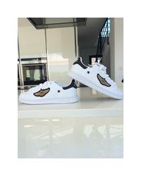 Baskets cuir Stan Smith blanc Adidas en coloris White
