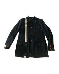 Manteau denim, jean bleu Jean Paul Gaultier pour homme en coloris Blue