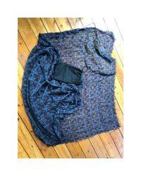 Foulard cachemire bleu Louis Vuitton pour homme en coloris Blue