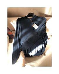 Pull coton bleu Louis Vuitton pour homme en coloris Blue