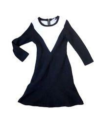 Robe mi-longue polyamide noir Sandro en coloris Black