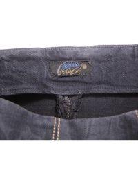 Robe mi-longue denim, jean gris Christian Lacroix en coloris Gray