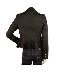 Blazer, veste tailleur laine noir Burberry en coloris Black