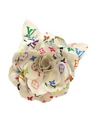 Broche plastique multicolore Louis Vuitton