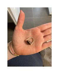 Bague or rose doré Ginette NY en coloris Metallic