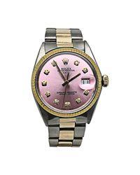 Montre au poignet or jaune rose Rolex pour homme en coloris Pink