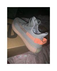 Chaussures à lacets tissu gris Adidas en coloris Gray