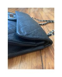 Sac à main en cuir cuir 2.55 noir Chanel en coloris Black
