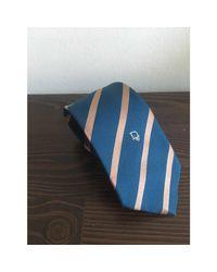 Cravate polyester bleu Dior pour homme en coloris Blue