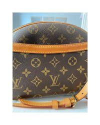 Sac en bandoulière en cuir cuir beige Louis Vuitton en coloris Natural