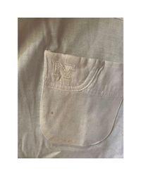 Chemisier coton blanc Nina Ricci en coloris White