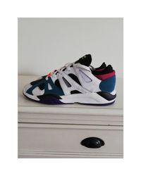 Baskets cuir multicolore Adidas pour homme