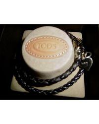 Bracelet cuir marron Tod's en coloris Brown