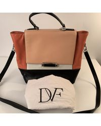 Sac à main en cuir cuir multicolore Diane von Furstenberg en coloris Black