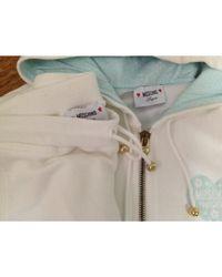 Ensemble jogging coton blanc Moschino en coloris White